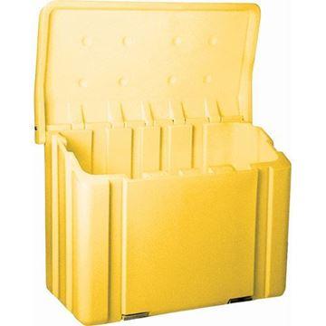 Contenant à sel et sable 11 pieds cubes GP1000 jaune