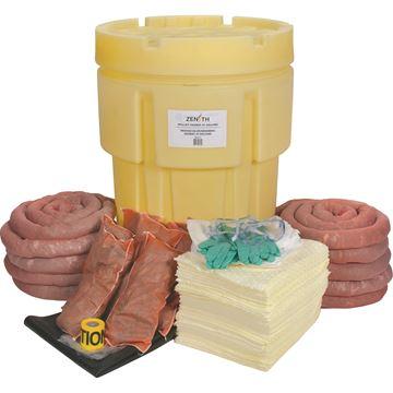 Zenith Safety Products - SAL321 Trousses de déversement de matières dangereuses 95 gallons - Matières dangereuses