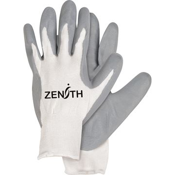 Zenith Safety Products - SAM630 Gants à paume enduite de mousse de nitrile léger