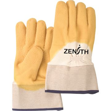 Zenith Safety Products - SAN435 Gants à paume enduite de latex de caoutchouc naturel, fini rugueux