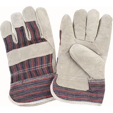 Zenith Safety Products - SAN638 Gants d'ajusteur en cuir de vache refendu