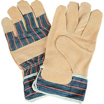 Zenith Safety Products - SAO156 Gants d'ajusteur en cuir de porc refendu