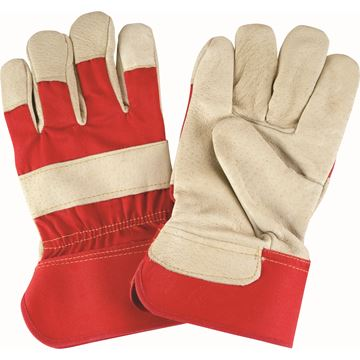 Zenith Safety Products - SAP222 Gants d'ajusteur en cuir fleur de porc