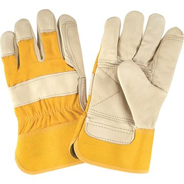 Zenith Safety Products - SAP223 Gants d'ajusteur doublés en cuir fleur de vache de première qualité