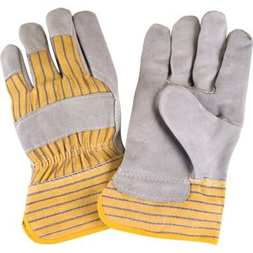 Zenith Safety Products - SAP224 Gants d'ajusteur en cuir de vache refendu