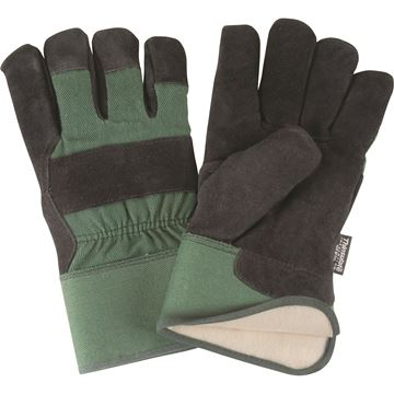 Zenith Safety Products - SAP249 Gants d'ajusteur en cuir de vache refendu doublés de Thinsulate<sup>MC</sup>