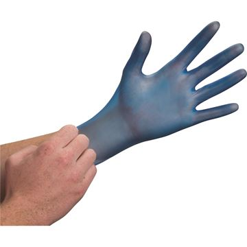 Zenith Safety Products - SAQ700 Gants de qualité examen en vinyle bleu