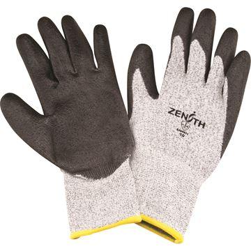Zenith Safety Products - SAW911 Gants de PEHP enduits de polyuréthane