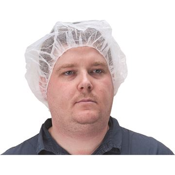 Zenith Safety Products - SEC382 Bonnets bouffants, sans latex