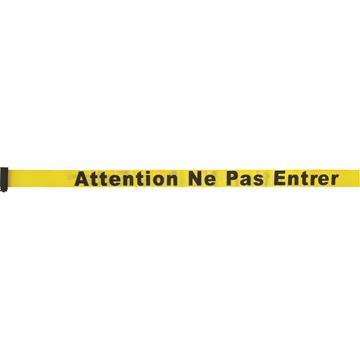 Zenith Safety Products - SEC956 Construisez vos propres barrières pour le contrôle des foules - cassettes de ruban