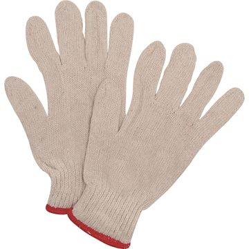 Zenith Safety Products - SEE935 Gants en tricot de ficelle poly/coton