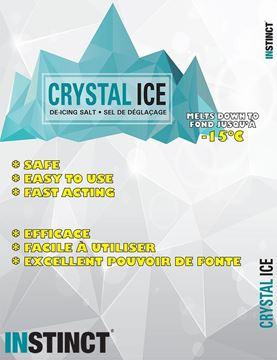 Sel de déglaçage Crystal Ice par Instinct