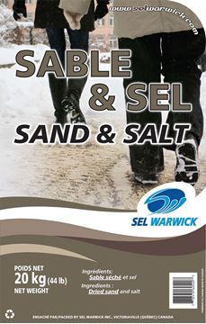 Mélange de sel et sable 20 kg par Sel Warwick