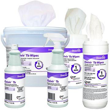 Désinfectant Oxivir TB à base de peroxyde d'hydrogène