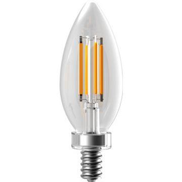 Lampe DEL filamentée B11 culot candellabra par Eiko