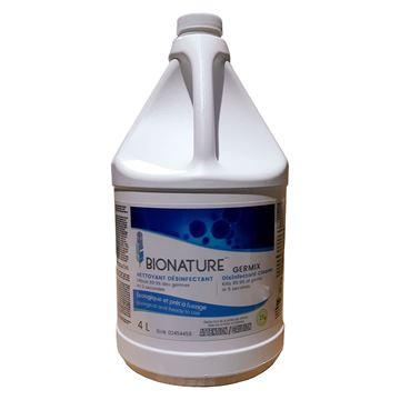 Bouteille de nettoyant désinfectant Germix de 4L